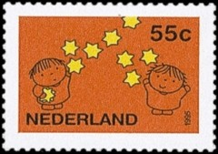 NVPH 1663 - Decemberzegel 1995