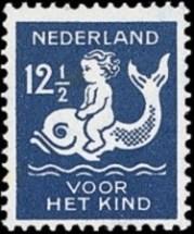 NVPH 228 - kinderzegel 1929