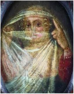 Anna Maria van Schurman - Zelfportret met sluier