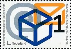 NVPH 2833 - beursnotering PostNL 2011