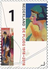 100 jaar de Ploeg - postzegel 5