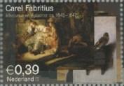 NVPH 2287 - Carel Fabritius - Mercurius en Aglauros ca 1645-1647