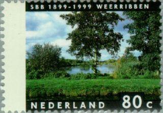 NVPH 1816 - Vier Jaargetijden 1999 Weerribben SBB