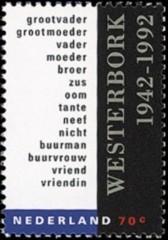 NVPH 1531 - Kamp Westerbork