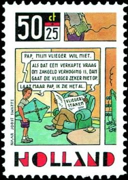 KLM-stakingspostzegel [1] - Joost Veerkamp