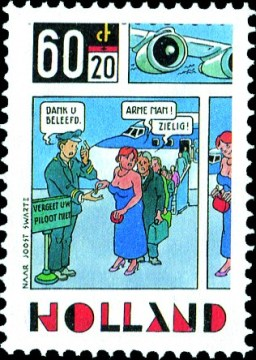 KLM-stakingspostzegel [2] - Joost Veerkamp