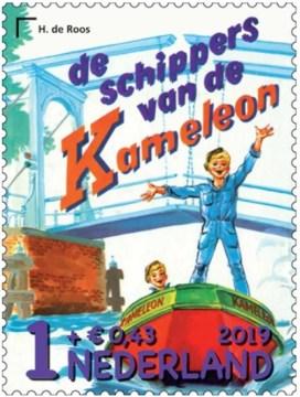 De schippers van de Kameleon - Kinderpostzegel 2019
