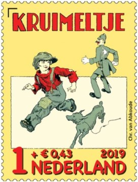 Kinderpostzegel 2019 - Kruimeltje