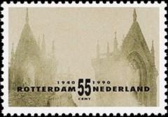NVPH 1448 - Rotterdam - Ruïne van de Zuiderkerk