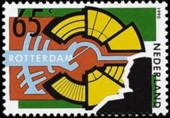 NVPH 1449 - Rotterdam - De stad als podium