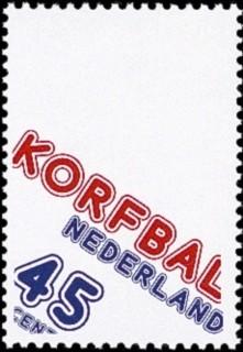 NVPH 1160 - 75 jaar Korfbal