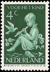 NVPH 315 - Kinderzegel 1938