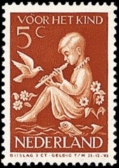 NVPH 316 - Kinderzegel 1938
