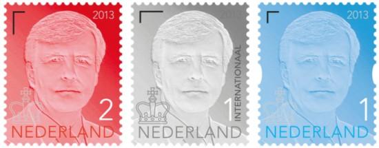 NVPH 3135/3136/3137 - Koning Willem-Alexander