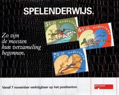 Affiche Kinderzegels 1990