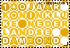 NVPH 2818 - Jubileumzegel KNDB