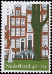 NVPH 1069 - Begijnhof Amsterdam