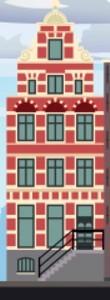 Typisch Nederlands - grachtenpanden - Oude Turfmarkt 147