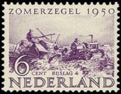 NVPH 553 - Zomerzegel 1950