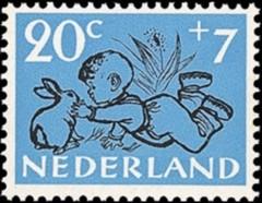 NVPH 600 - kinderzegel 1952