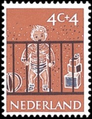 NVPH 731 - Kinderzegel 1959