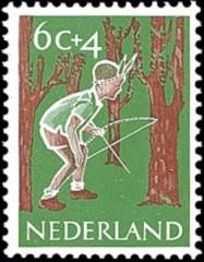 NVPH 732 - Kinderzegel 1959