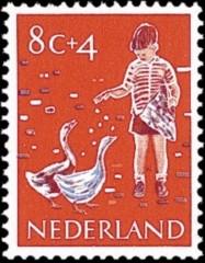 NVPH 733 - Kinderzegel 1959