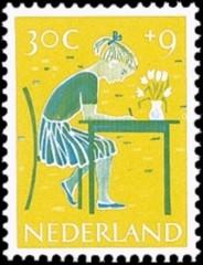 NVPH 735 - Kinderzegel 1959
