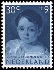 NVPH 706 - Kinderzegel 1957