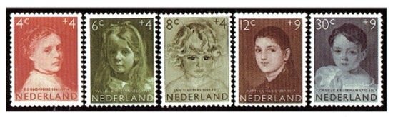 Kinderzegels 1957