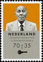 NVPH 1557 - Zomerzegel, ouderenzegel 1993