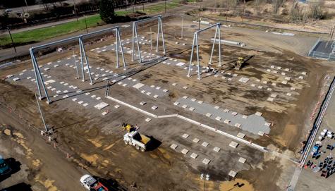 Harborton Substation Construction