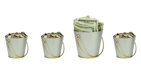 Buckets-of-Money four en Potencial Millonario Con Felix A. Montelara