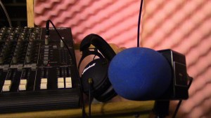 Mic headphones and Board Audio Dice Network