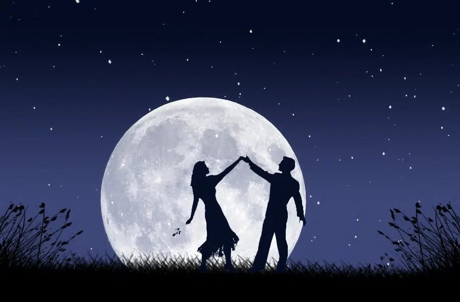 Image result for couple dancing under the moon pictures free