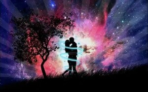 Love Couple In The Night