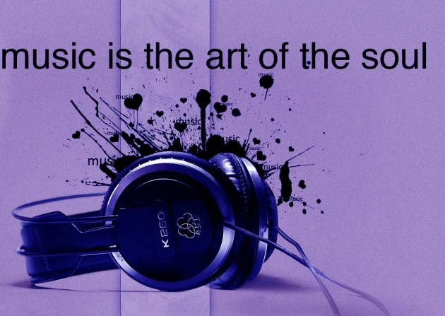 music is the art of the soul