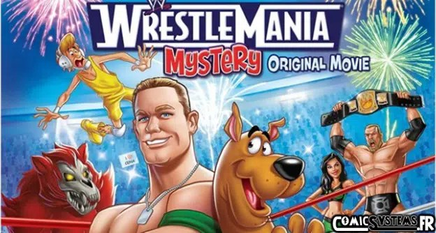 scoobydoo-wrestlemaniamystery-affiche