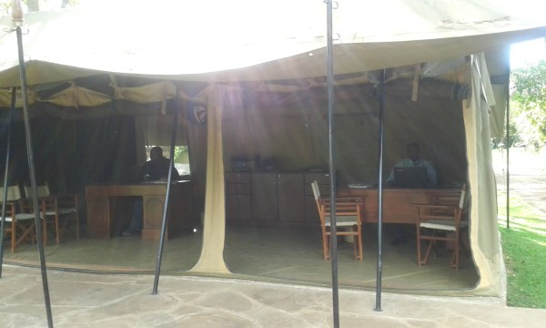 tent office