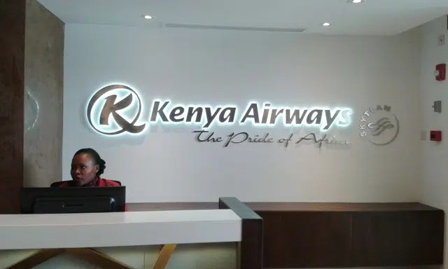 kenya airways reception