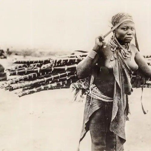 Kikuyu women from the 1900s