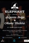 Live at the Elephant featuring Suzanna Owiyo this Friday