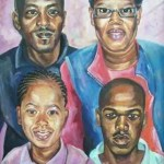 Family Portrait By E. Alubaka Asher