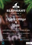 Live At The Elephant This Friday Featuring Nyota Ndogo & Bado