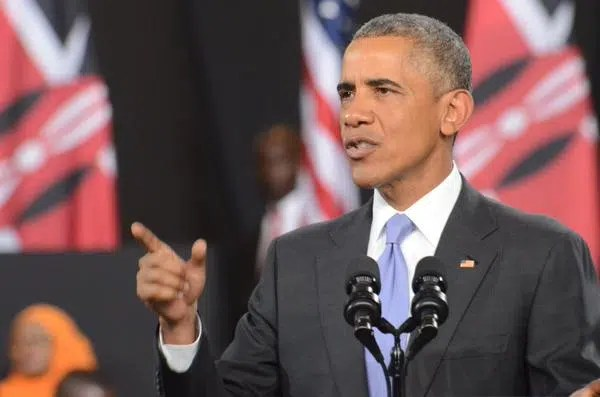 President Obama. Photo credit US Embassy https://twitter.com/USEmbassyKenya/status/625256917393371136