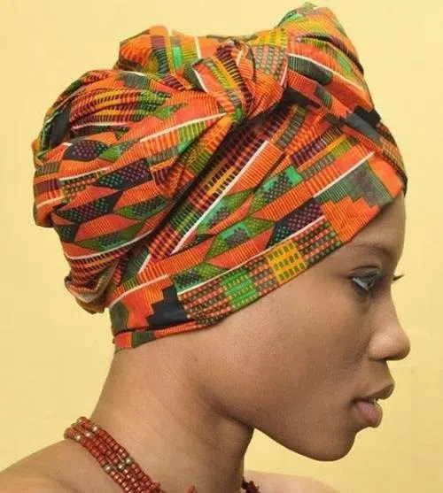 African woman with a turban. Image from http://precisionartblog.blogspot.co.ke/2014_07_01_archive.html