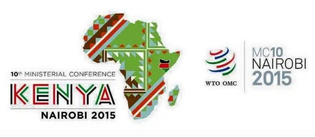 world trade organization ministerial conference nairobi