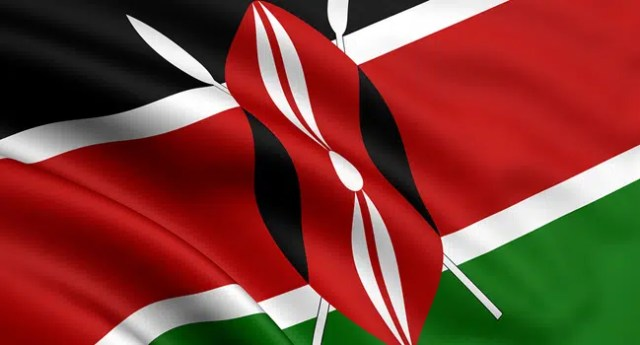 3d rendered and waving flag of kenya. Image from http://www.meac.go.ke/