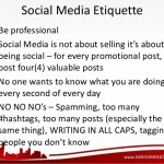 Etiquette: 9 tips to make the most of social media