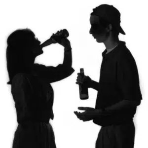 Teenagers drinking. Image from http://ow.ly/T6V8X